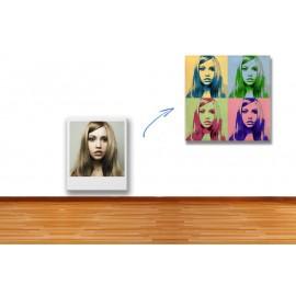 Dein Foto als POP ART Kunstwerk